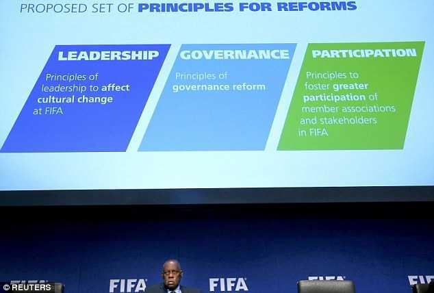 FIFA khủng hoảng, đang phải cải tổ quyết liệt