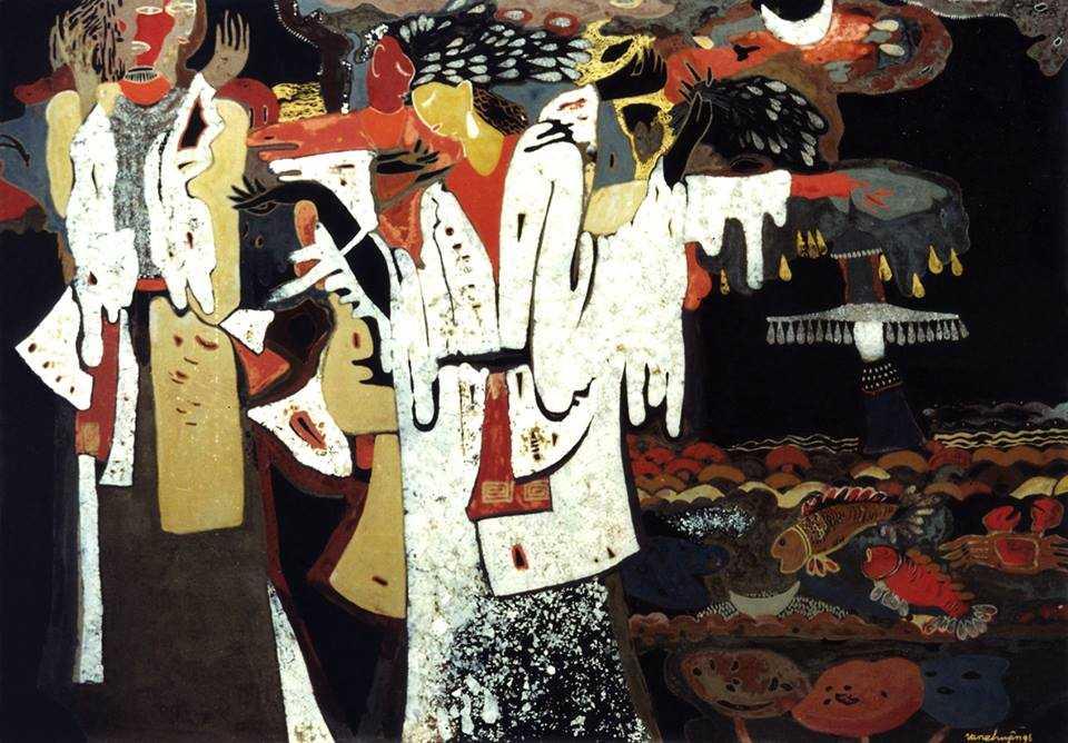 Họa sĩ Nguyễn Văn Chuyên thử mình trên nhiều chất liệu và ở chất liệu nào anh cũng đạt được những thành công, song sơn mài vẫn là chất liệu sở trường. Từ những năm ngoài 20 tuổi, những bức sơn mài vẽ theo lối trừu tượng đã mang lại cho anh nhiều giải thưởng.