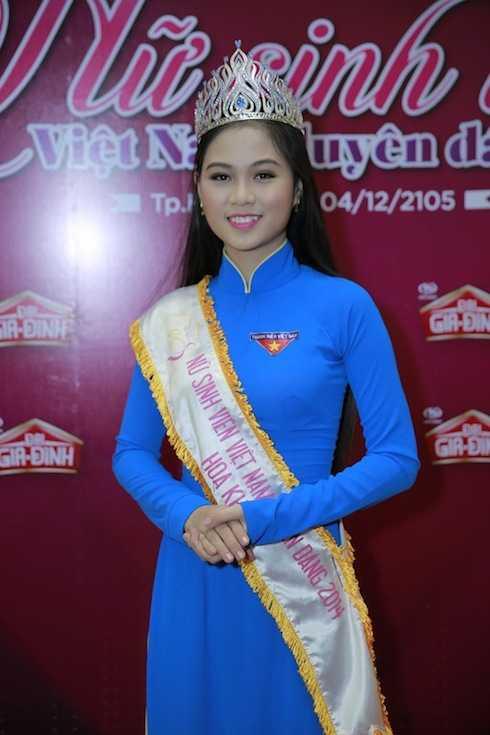 Hoàng Thị Phương Thảo – Hoa khôi VMU 2014.