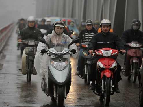 Khu vực Bắc và Trung Bộ vẫn tiếp tục có mưa, trời rét