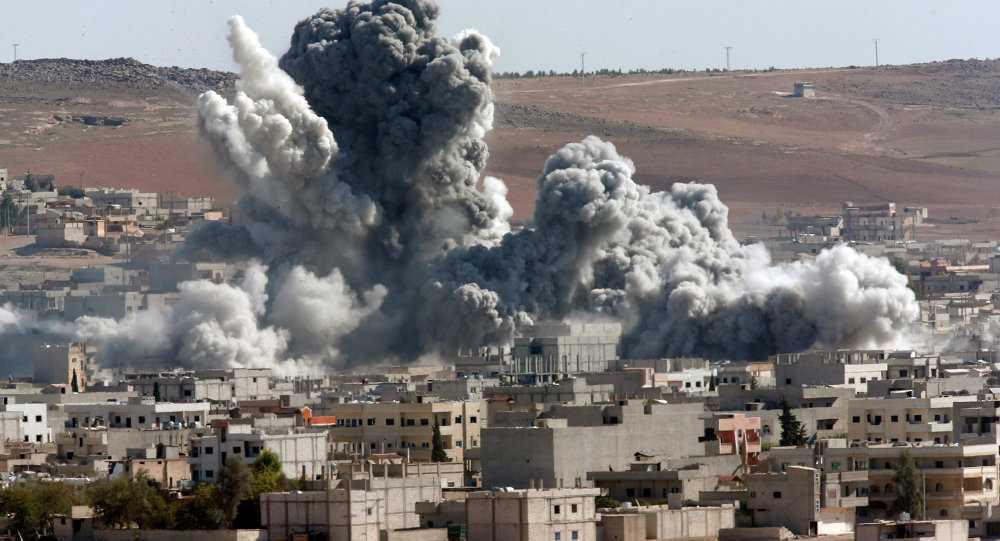 Một mục tiêu IS bị trúng không kích