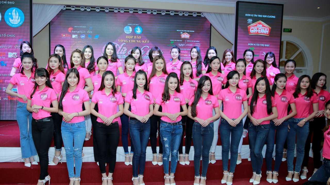 Top 50 nữ sinh tài năng, xinh đẹp nhất cuộc thi Nữ sinh Việt Nam duyên dáng trước đêm chung kết