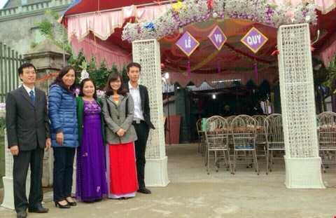 Ngày cưới của Quỳnh Mai, chị gái Tuấn Anh