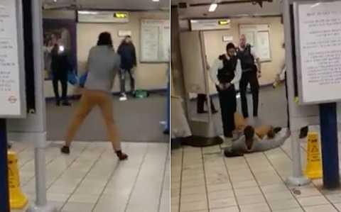 Kẻ tấn công bằng dao tại ga tàu điện ngầm ở thủ đô London, Anh