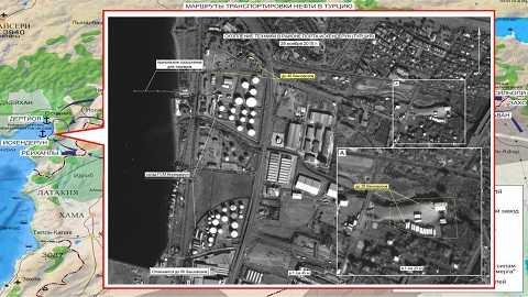 Hình ảnh vệ tinh cho thấy IS vận chuyển dầu vào Thổ Nhĩ Kỳ