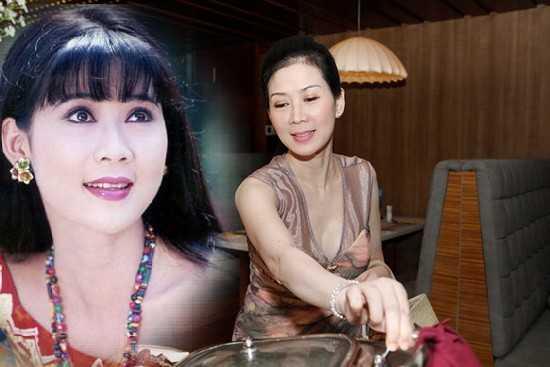 Nhan sắc của Diễm Hương biến đổi sau hơn 20 năm.