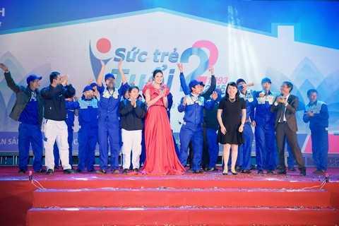 Là Đại sứ thương hiệu của Tập đoàn Tân Á Đại Thành, Hoa hậu Ngọc Hân luôn đồng hành cùng Tân Á Đại Thành trong các sự kiện quan trọng, và mới đây nhất là Đại lễ hội Mừng sinh nhật Tân Á Đại Thành 22 tuổi