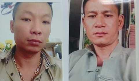 Nguyễn Hữu Điệp (trái) đã dùng dao đâm tử vong nạn nhân Nam