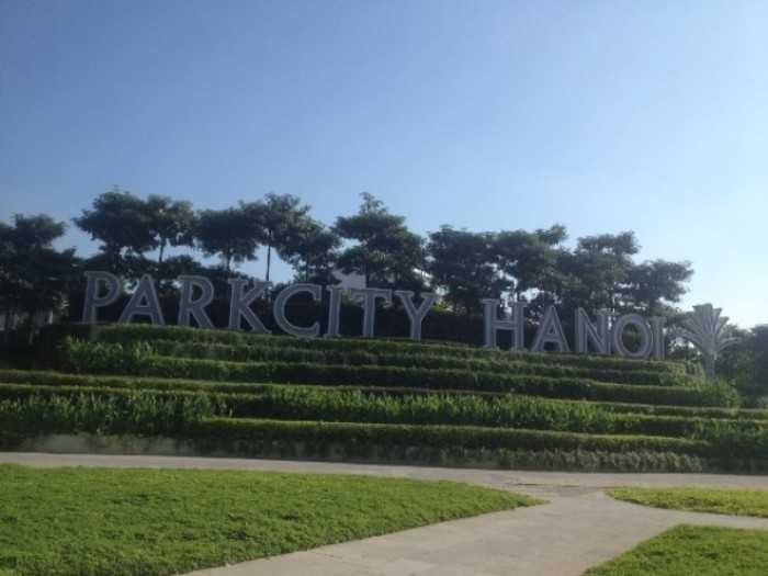 Một góc dự án Park City