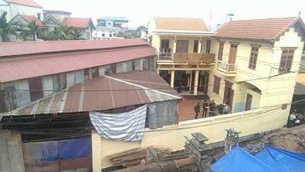 Ngôi nhà xảy ra vụ án mạng nghiêm trọng