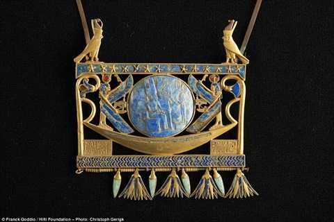 Chiếc vòng cổ đặc biệt của pharaong Shesonk II được tìm thấy trong thành phố biến mất