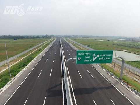 Tuyến cao tốc Hà Nội - Hải Phòng được đánh giá là hiện đại nhất Việt Nam