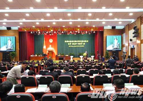 Sáng nay (8/12), HĐND TP Hải Phòng khai mạc kỳ họp thứ 13.
