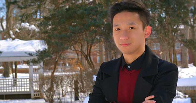 Mai Đức Anh, sinh viên tại Truman State University, Missouri, Mỹ