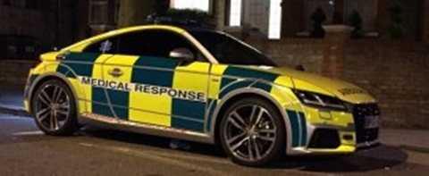 Chiếc Audi TT bị cướp khi bác sỹ trên đường đến làm dịch vụ cắt bao quy đầu tại nhà một bé trai
