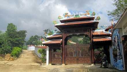 Biệt phủ đại gia Ngô Văn Quang trên núi Hải Vân.