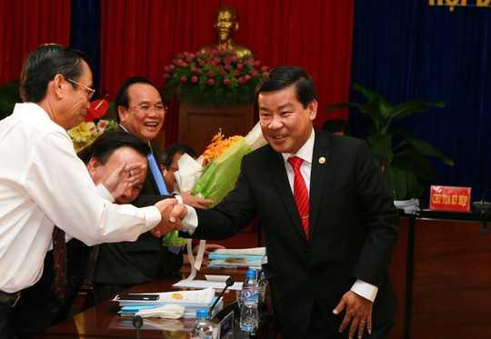 Ông Trần Thanh Liêm được bầu giữ chức Chủ tịch tỉnh Bình Dương.