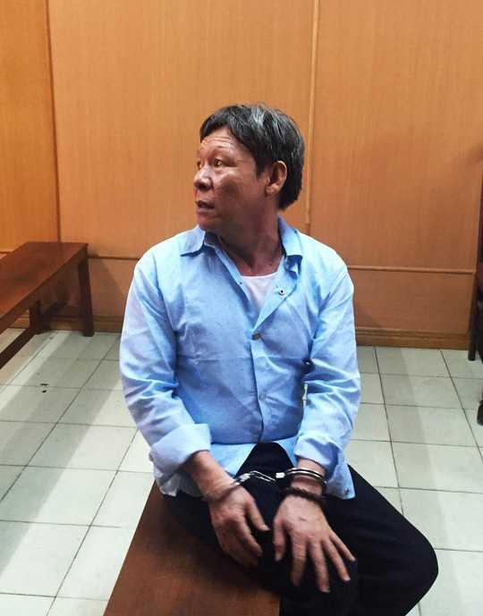 Phó ban Bảo vệ dân phố Nguyễn Minh Tân hầu tòa