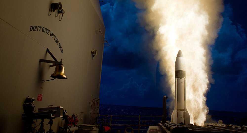 Tên lửa Mỹ phóng đi từ chiến hạm