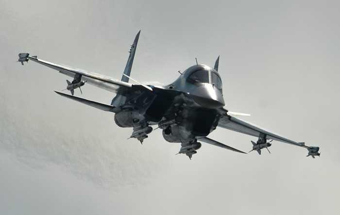 Su-34 trong triển lãm MAKS 2015