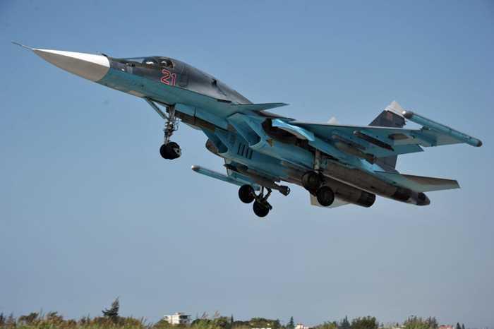 Su-34 của Nga xuất kích đi diệt IS ở Syria