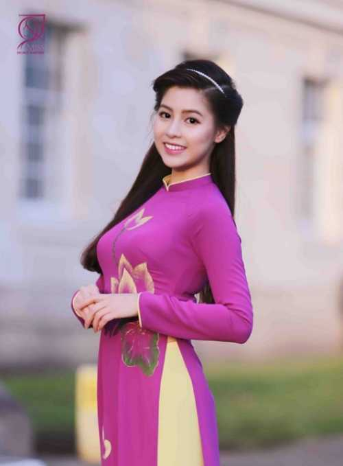 Vũ Thị Mỹ Ngọc, sinh năm 1990, Thạc sĩ tài chính trường Nottingham Trent University, Vương Quốc Anh.