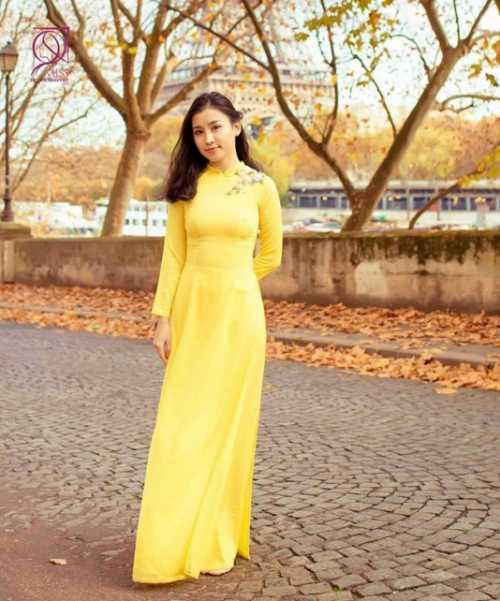 Lê Phương Thảo, sinh năm 1993, du học sinh trường Istituto Marangoni Paris, Pháp.