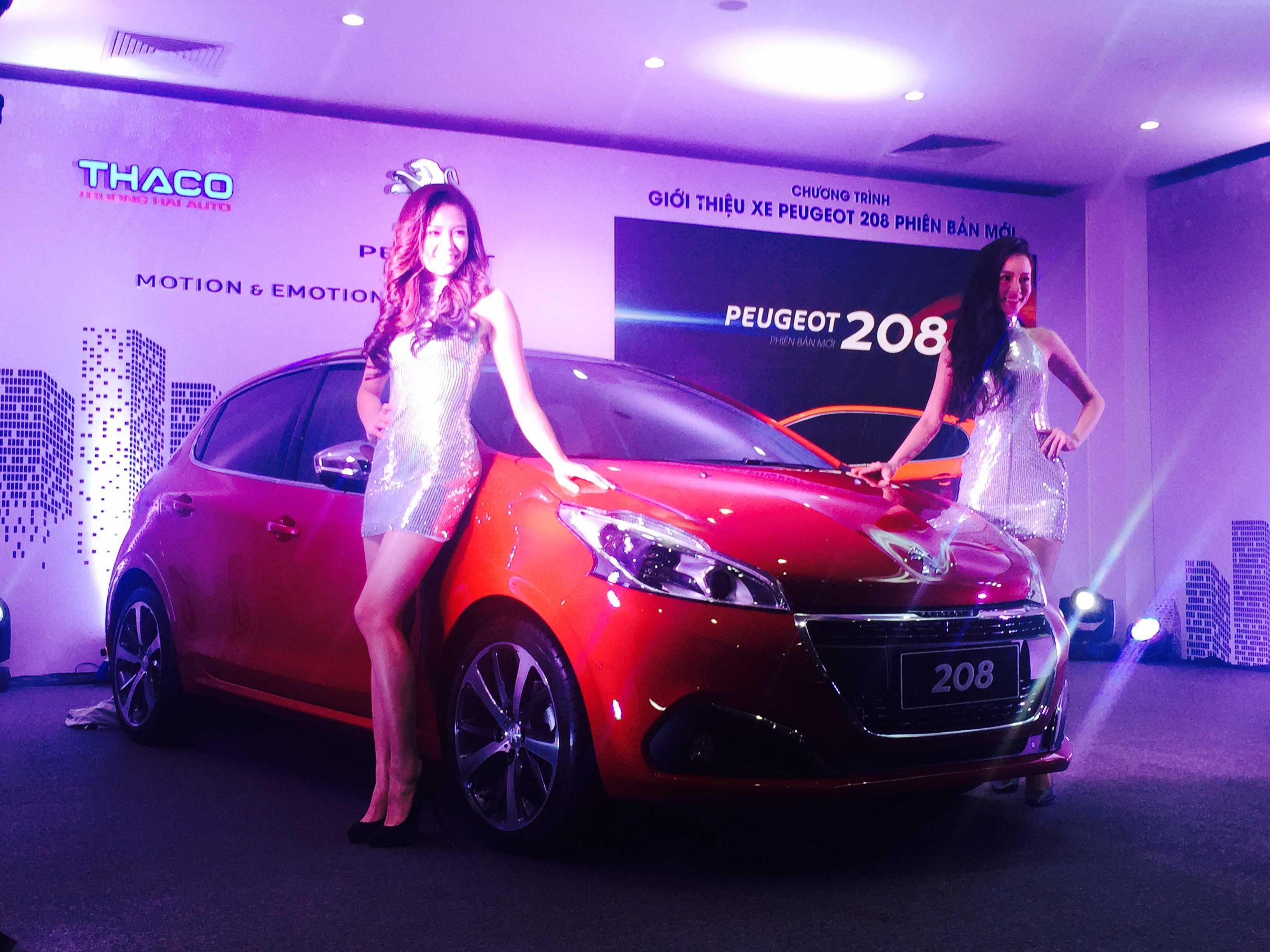 Peugeot 208 mới với nhiều thay đổi về trang bị công nghệ