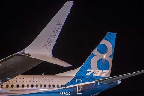 Boeing cho biết, cánh của 737 Max được cải thiện giúp giảm 1,8% nhiên liệu so với cánh hiện tại
