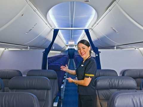 Nội thất bên trong 737 Max