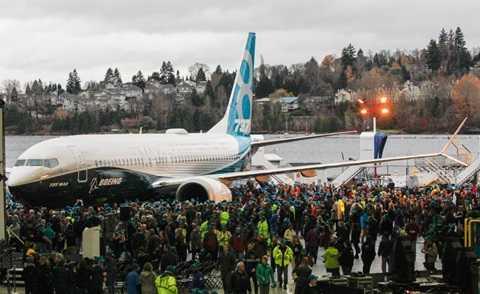 Hiện, Boeing đang sản xuất máy bay Boeing 737 Max thứ hai và thứ ba
