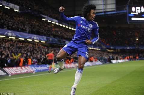 Willian ấn định chiến thắng cho Chelsea