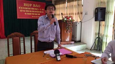 Ông Nguyễn Thế Hải- Chánh VP tỉnh ủy tỉnh Kon Tum