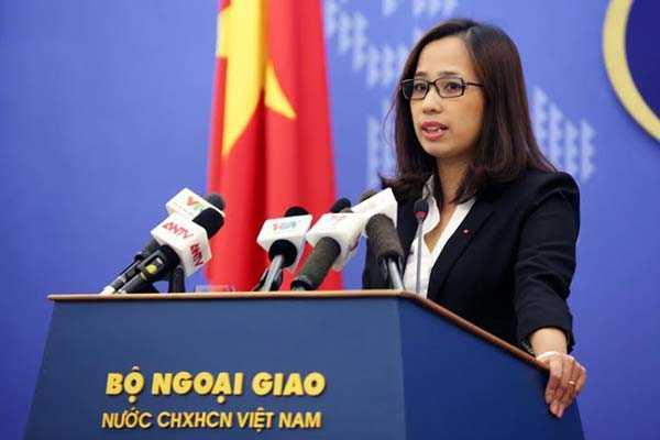 Phó phát ngôn viên Bộ Ngoại giao Phạm Thu Hằng