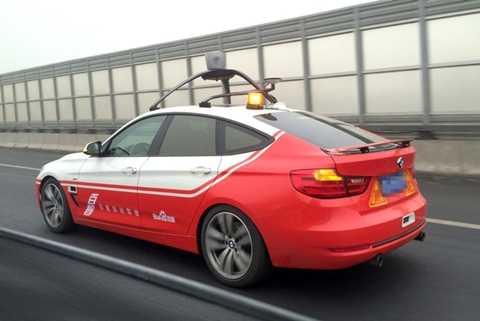 Xe tự lái đầu tiên của Trung Quốc hoàn thành cuộc thử nghiệm 35 km trên đường hỗn hợp quanh thủ đô Bắc Kinh