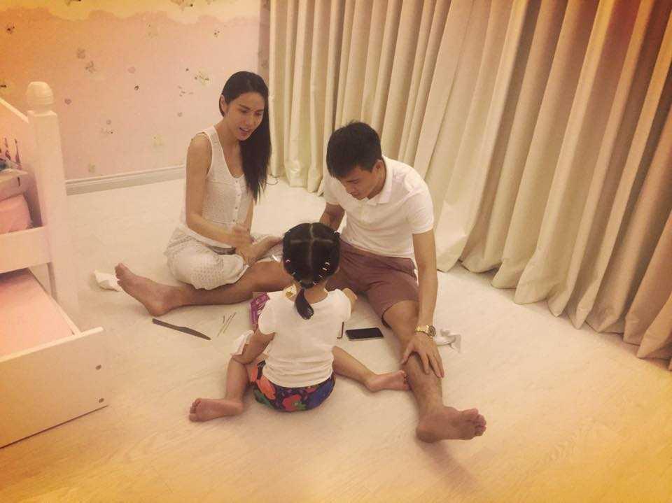 Thủy Tiên khoe hạnh phúc nhỏ của gia đình