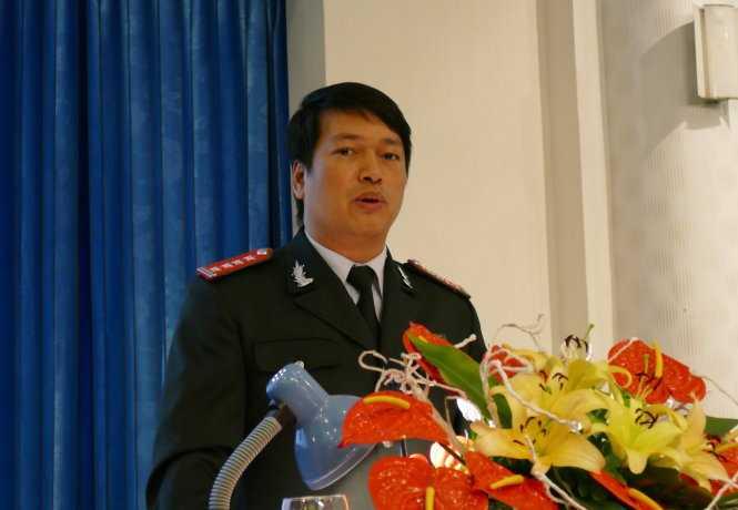 Ông Ngô Mạnh Hùng (phó cục trưởng Cục Chống tham nhũng, Thanh tra Chính phủ) - Ảnh: L.Kiên