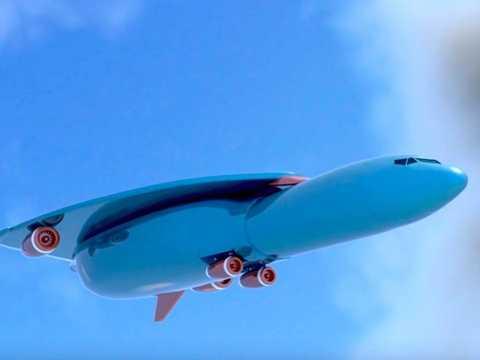 Thiết kế ban đầu của Airbus khá lạ so với máy bay thông thường