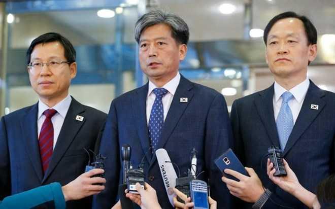 Trưởng đoàn đàm phán Hàn Quốc, Thứ trưởng Bộ Thống nhất Hwang Boo-gi