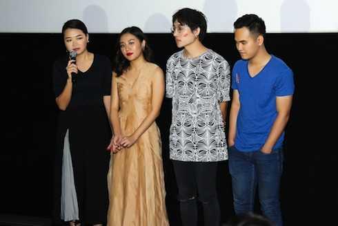 Giám đốc sáng tạo Hà Đỗ, Văn Mai Hương, nhạc sỹ Châu Đăng Khoa, nhạc sỹ Khắc Hưng.