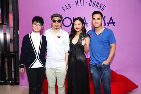 Ca - nhạc sỹ Vũ Cát Tường, nhạc sỹ Huy Tuấn, nhạc sỹ Khắc Hưng.