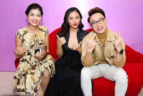 Hoa hậu Toàn cầu Oanh Yến, ca sỹ Trúc Nhân.