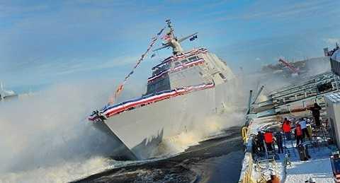 Tàu chiến mới nhất của Mỹ Milwaukee