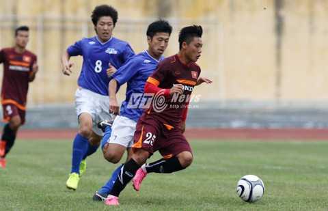 Ti Phông đang thi đấu khá ấn tượng (Ảnh: Quang Minh)