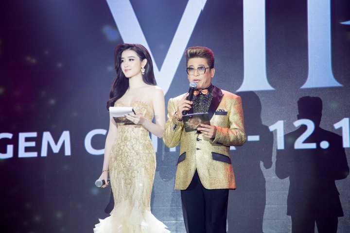 Tại sự kiện, Huyền My đảm nhận vai trò MC. Từng có kinh nghiệm dẫn dắt chương trình
