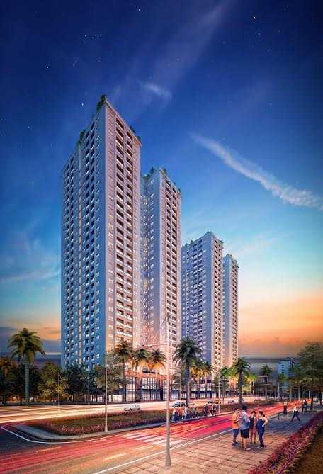 Chung cư Mon City với thiết kế Chạm vào nắng gió