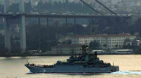 Tàu Caesar Kunikov của Nga - Ảnh minh họa