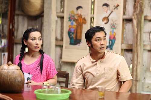 Tạo hình của Lý Hùng trong phim.