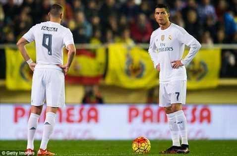 Ronaldo thêm 1 trận nữa tịt ngòi
