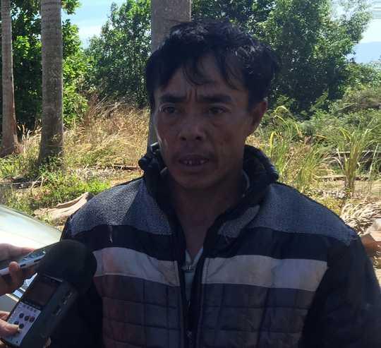 Ông Lê Văn Đức, bố Lê Văn Hải, kể lại vụ việc
